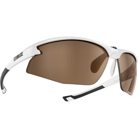 Bliz Motion M5 Bril, shiny white /amber